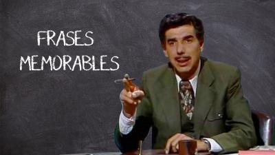 Las frases más célebres del 'profesor Jirafales'