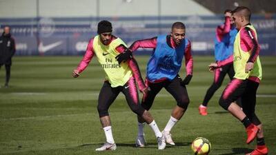 ¡Está recuperado! Neymar ya trabaja de forma colectiva con el PSG