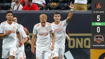 Atlanta United apabulla a Houston Dynamo con doblete de Josef Martínez