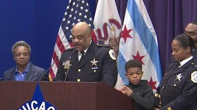 Fin de un ciclo: así anunció el superintendente de la policía de Chicago Eddie Johnson su retiro