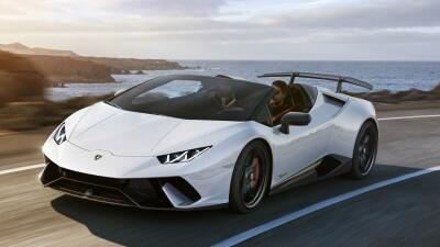 Motor Show Ginebra 2018: Lamborghini Huracán Performante Spyder, uno de los roadsters más rápidos del mundo