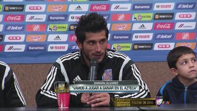 Damián Álvarez: 'Vamos al Azteca a buscar la victoria'