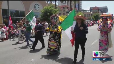 Celebraciones del 5 de mayo en Sacramento