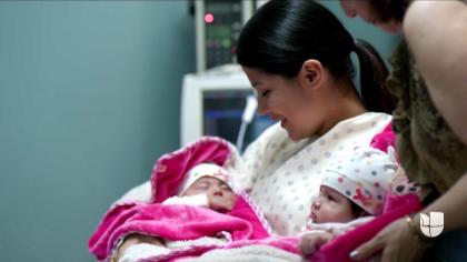 Otro momento importante en la vida del narcotraficante mexicano fue el nacimiento de sus hijas gemelas el 15 de agosto de 2015, en un estado del sur de California.