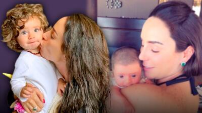 Con este emotivo mensaje (y promesa) Inés Gómez Mont celebra el primer año de vida de su hija María