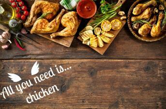 Las mejores 60 recetas de pollo