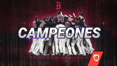 ¿Cuál maldición? Boston termina una temporada de ensueño con el título de la Serie Mundial