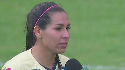 Esmeralda Verdugo, feliz de haber tomado revancha ante Chivas