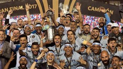 Gremio vence a Lanús y es campeón de la Copa Libertadores 2017