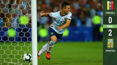 Habrá Brasil-Argentina en semis: Venezuela, víctima de sus fallos en Copa América