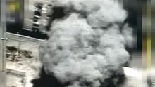 Impresionante bombardeo israelí de un edificio en Gaza durante el segundo día de enfrentamientos