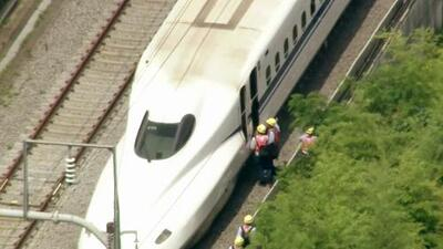 Tragedia en Japón por fuego en un ferrocarril