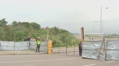 Esta es la situación que se vive en la frontera de Venezuela, donde se espera la ayuda humanitaria