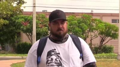 Este venezolano caminará 1,800 kilómetros hasta Washington para honrar a miles de sus compatriotas que han huido a pie