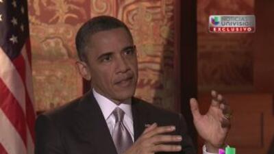 Transcripción de la entrevista al presidente Barack Obama