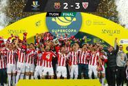 Athletic de Bilbao arrebata la Supercopa de España al Barcelona