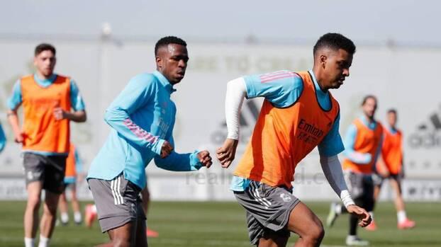 Llegaron las buenas noticias al entrenamiento del Real Madrid