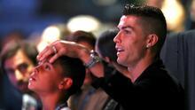 Cristiano Ronaldo desaprueba hábitos alimenticios de su hijo mayor