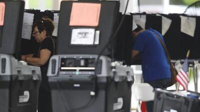 Así transcurren las elecciones primarias en el sur de Florida