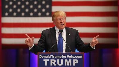 Donald Trump propone retirar la ciudadanía y castigar con cárcel a quienes quemen la bandera de Estados Unidos