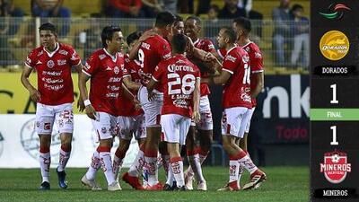 ¡En el último suspiro! Maradona y Dorados evitan la derrota ante Zacatecas con gol de último minuto