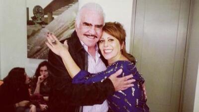 Alejandra Guzmán recibió un regalo muy especial de Vicente Fernández