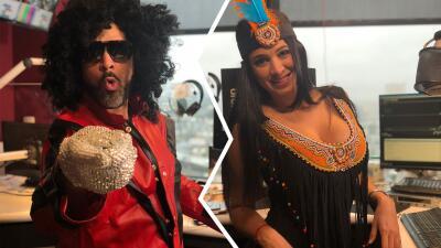 FOTOS: Michael Jackson y Pocahontas reemplazaron al Pelón y Carla en los micrófonos