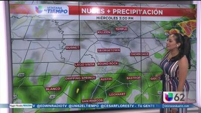 Lluvias aisladas para los próximos días en Austin