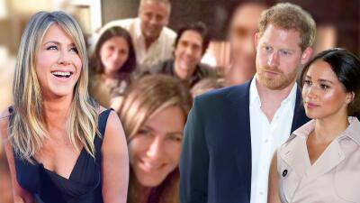 Jennifer Aniston le arrebata a Meghan Markle y el príncipe Harry el récord Guinness que tenían en Instagram