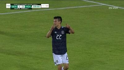 ¡GOOOL! Hirving Lozano anota para Mexico