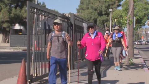 La peregrinación por una reforma migratoria espera llegar el domingo a Los Ángeles
