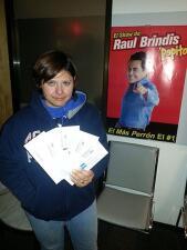 Ganadores del Show de Raul Brindis en Houston
