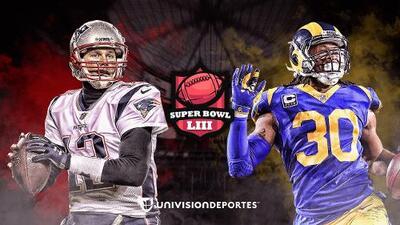 La espera terminó: Patriots y Rams definirán al nuevo campeón en la NFL