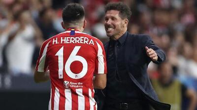 Héctor Herrera suma minutos de calidad con Atlético de Madrid