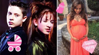 Naidelyn Navarrete, la villana infantil de 'Amigos x siempre' se convirtió en mamá