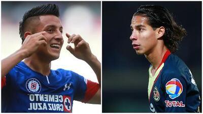 ¿Roberto Alvarado o Diego Lainez? Cruz Azul y América exhiben duelo de gladiadores