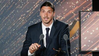 Zlatan Ibrahimovic es elegido por tercera vez consecutiva como mejor jugador de la Ligue 1