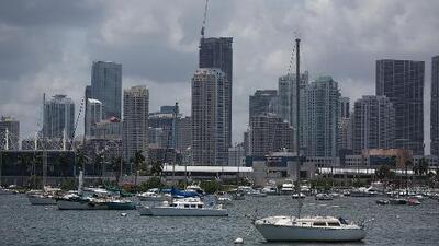 Fin de semana pasado por lluvias, el pronóstico del clima en Miami