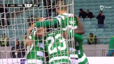 ¡GOOOL! Bas Dost anota para Sporting CP