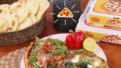Celebra el Día Nacional de la Pizza preparando la tuya de manera más saludable (y deliciosa)