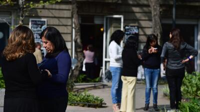Sismo de magnitud 5.4 remece edificios en la Ciudad de México
