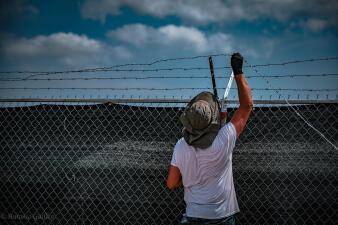 En fotos: Así es el nuevo centro de detención de inmigrantes en la frontera sur de Texas