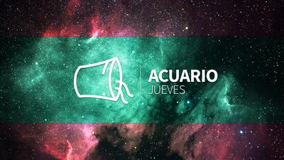 Acuario – Jueves 21 de diciembre 2017: Sacarás adelante un proyecto prometedor