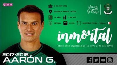 Aarón Galindo jugará en el Toledo de España