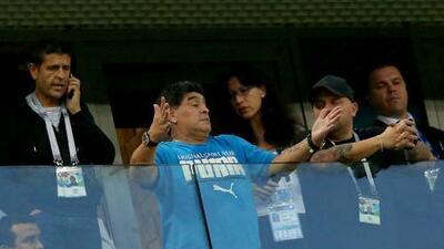 """Maradona aclará su estado de salud y asegura que """"hay Diego para rato"""""""