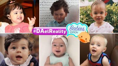 Nuestras pequeñas estrellas: Despierta con los protagonistas de #DAelReality Babies Edition