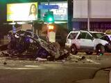 Bebés mellizos resultan heridos en accidente causado por conductor ebrio en Fresno