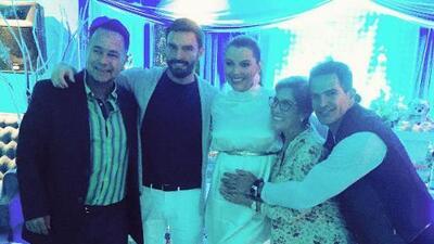 Marjorie y Julián no dejaron de bailar en el baby shower de Matías