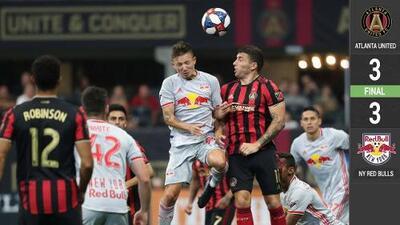 Bradley Wright-Phillips y Red Bulls amargaron el regreso goleador de Josef Martínez con Atlanta