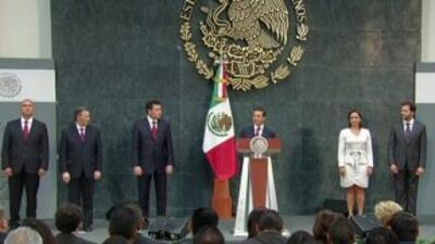 Estos son los nuevos ministros de Enrique Peña Nieto